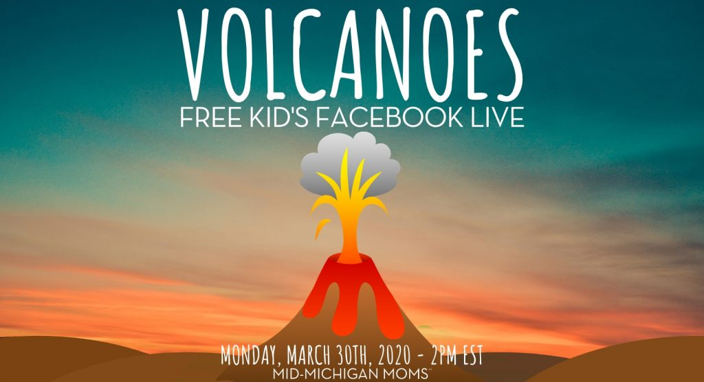 volcano distance learning facebook live