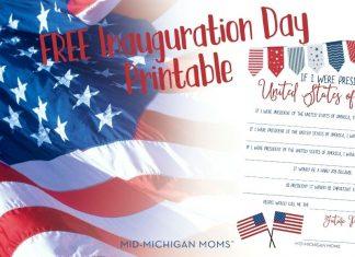 free inauguration printable