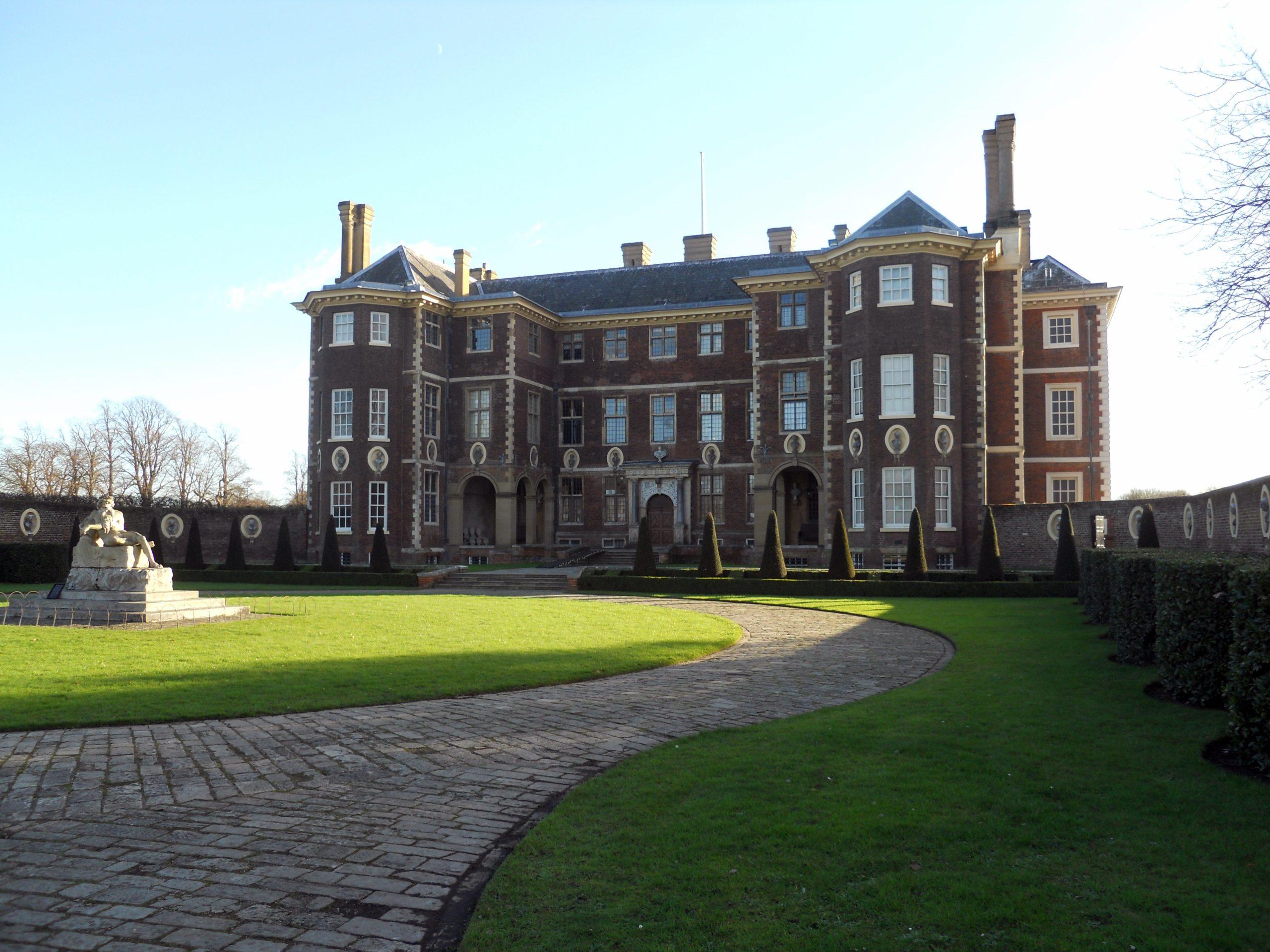 duchess in a castle
